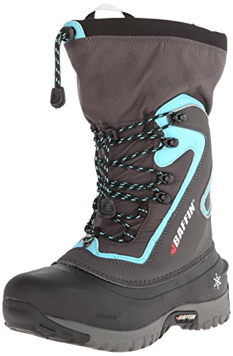 Baffin Women's Flare-W, Charcoal/Teal, 9 M US