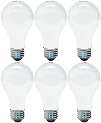 (GE Lighting 63005 Soft White 72-Watt (100-Watt Replacement) 1490-Lumen A19 Light Bulb with Medium Base, 6-Pack)