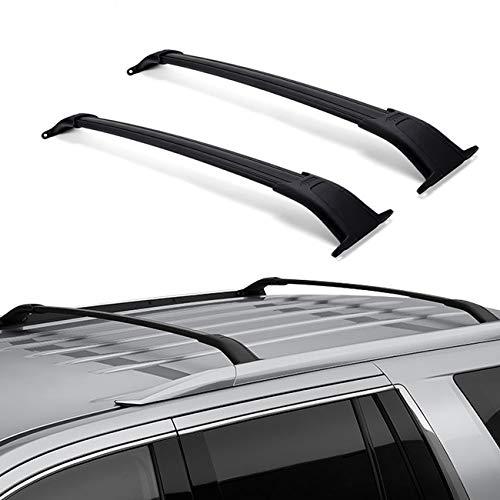 Cross Cadillac Escalade (ALAVENTE Roof Rack Cross Bars for GMC Yukon & Yukon XL Chevrolet Tahoe Suburban Cadillac Escalade ESV 2015-2018)