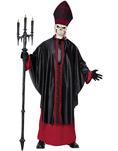 California Costumes Men's Black Mass, Red/Black, (Evil Dead Halloween Costume)