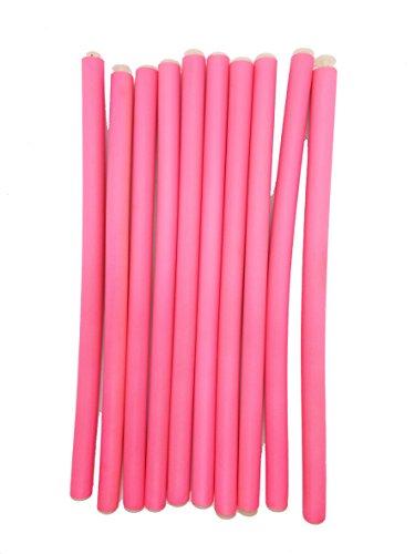 Cabello Espuma banda de goma Headwear mano rosa una línea Garra Clamp Cute 10pcs.