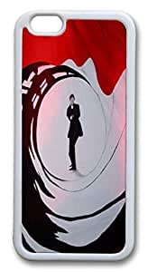 iphone 6 4.7inch Case and Cover James Bond 007 poster TPU Silicone Rubber Case Cover for iphone 6 4.7inch White by mcsharksby Maris's Diary