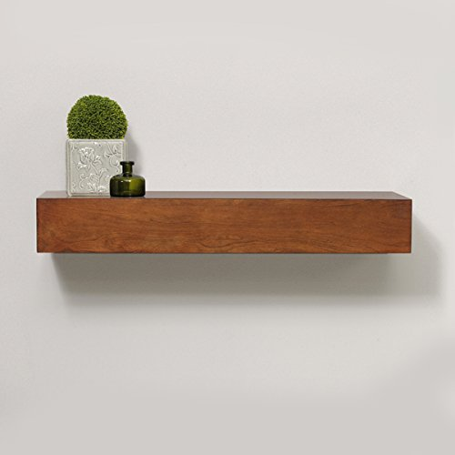 Timber Vaults, Inc Avery Gun Concealment Shelf, Medium in Caramel Finish with RFID Lock (Caramel Medium Finish)