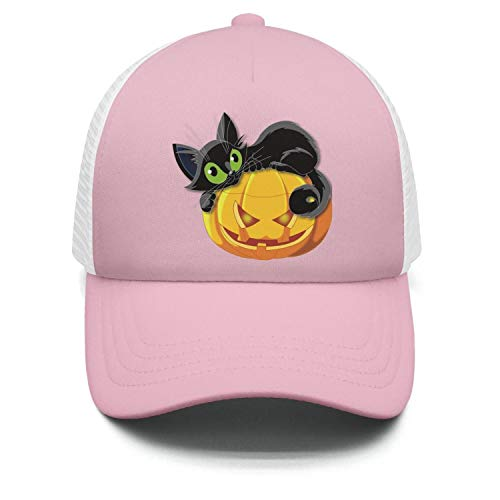 Boy's/Girl's Halloween Pumpkin with cat Baseball hat Pride Sports caps for $<!--$14.57-->