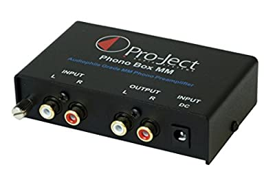 Pro-Ject Phono Box MM DC Phonograph Preamplifier,Black
