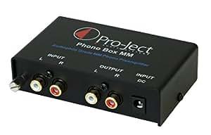Pro-Ject Phono Box MM DC Phonograph Preamplifier,Black
