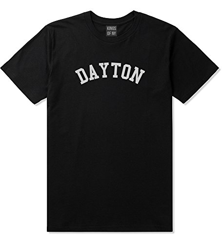 Dayton Ohio Mens T-Shirt Large Black
