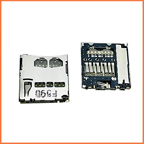 Gimax 10XMicro SD TF Card Samsung 8PIN i9000 i9100 Tray Slot Holder Reader Adapter Motherboard Patch HTC G11 G14 Socket Connector ALPS ()
