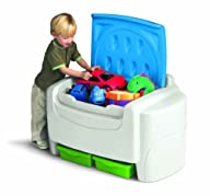 Little Tikes Bright 'n Bold Toy Chest – Green/Blue