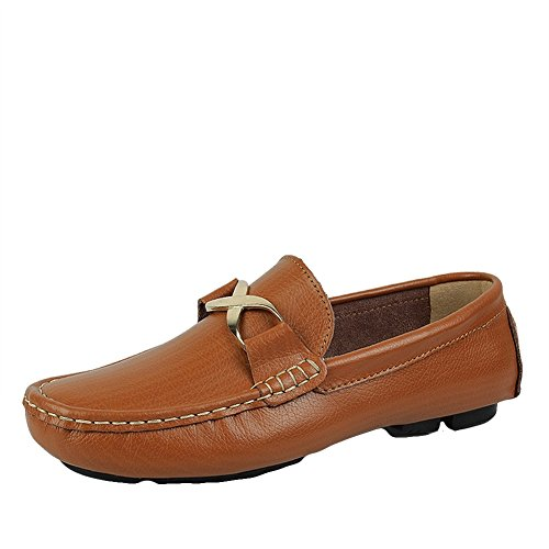 Schuhe Loafers Driving Mens Mokassins Leather von Icegrey p0wfcqT6