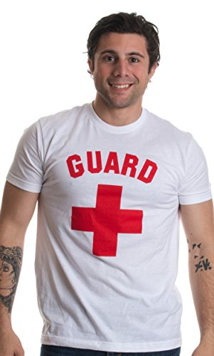 GUARD | White Professional Lifesaving Swim Rescue Unisex T-shirt