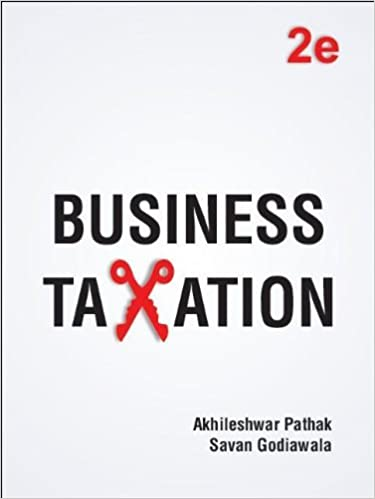 Business Taxation Book