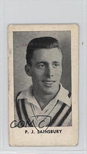 pj-sainsbury-comc-reviewed-poor-to-fair-trading-card-1956-the-paper-for-boys-the-worlds-best-cricket