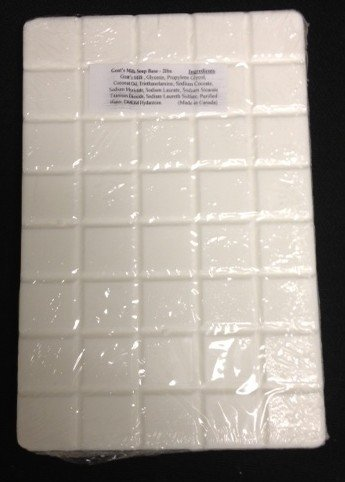 Goats milk Glycerin Soap Base- 2 (Goat Milk Soap Mold)