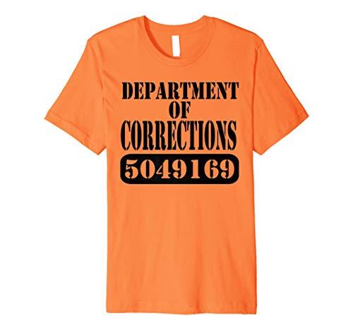 Department of Corrections Prisoner Halloween Costume T-shirt]()