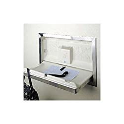 """Bobrick KB110-SSRE Koala Kare Horizontal Recessed Mounted Baby Changing Station, Stainless Steel Finish, 37"""" Width x 23"""" Height"""