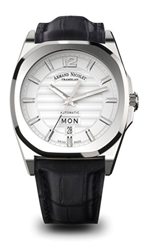 Armand Nicolet Men's J09 Collection A650AAA-AG-PI4650NA