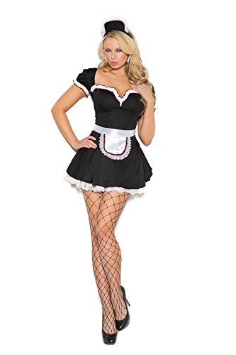 Women's Sexy French Maid Adult Role Play Costume