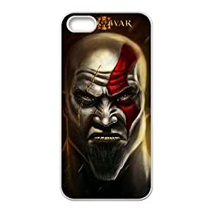 God Of War Iphone 5 5S Cell Phone Case White 218y-095650