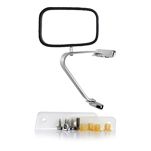 - SCITOO fit Ford Towing Mirrors Chrome Rear View Mirrors fit 1980-1996 Ford F150 F250 F350 Bronco 1991-94 Explorer 83-92 Ranger 1980-84 Ford F100 Manual Operation Feature