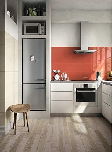 PIASTRELLE ROSSE PER CUCINA - Cucina con pareti rosse ...