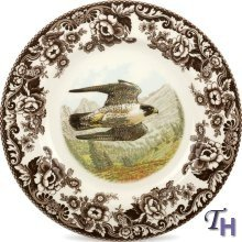 Spode Woodland Dinner Plate(s) - Peregrine Falcon