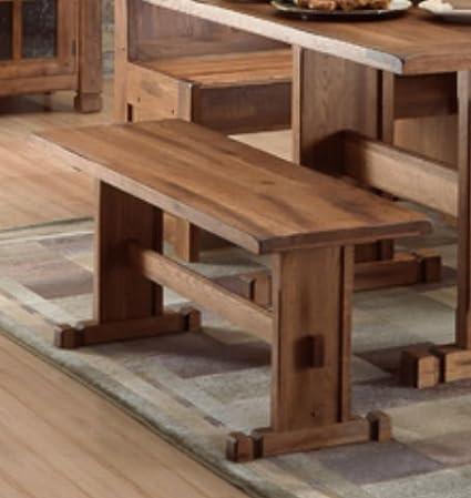 Amazon.com - Sunny Designs Sedona Rustic Oak Kitchen Bench ...