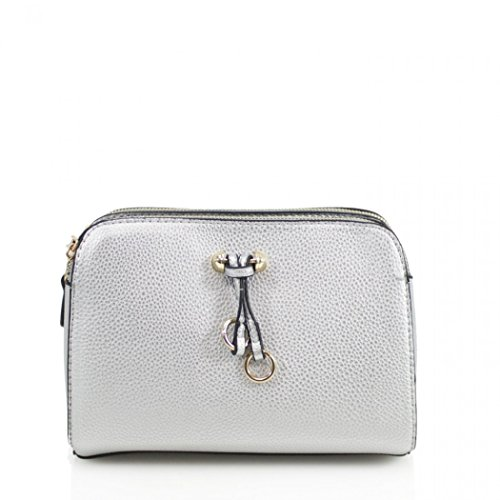 Silver Shoulder Bag 3 Cross Handbags LeahWard Quality Body Bags 818 Compartment Women's wB84tCqP