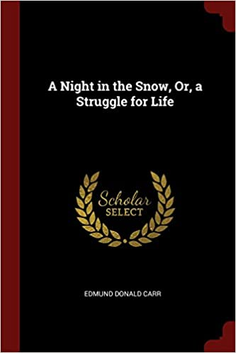 Book A Night in the Snow, Or, a Struggle for Life