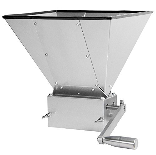 Kegco KM11GM-3R Grain Mill with 11 lb. Hopper and 3 - Machine 3 Hoppers