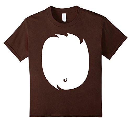 Puppy Halloween Costumes For Kids (Kids Puppy Dog Costume Halloween Shirt Cute for Kids Men Women 12 Brown)