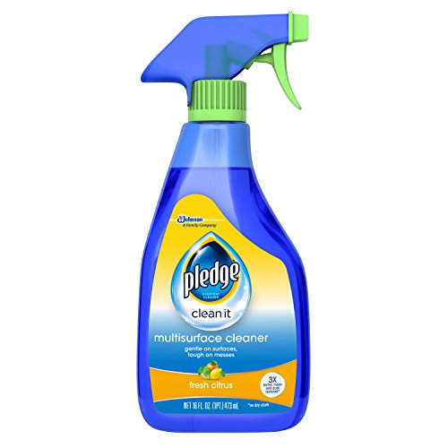 Pledge Stainless Steel - Pledge Multi Surface Everyday Cleaner 99% Natural Trigger 16 oz.
