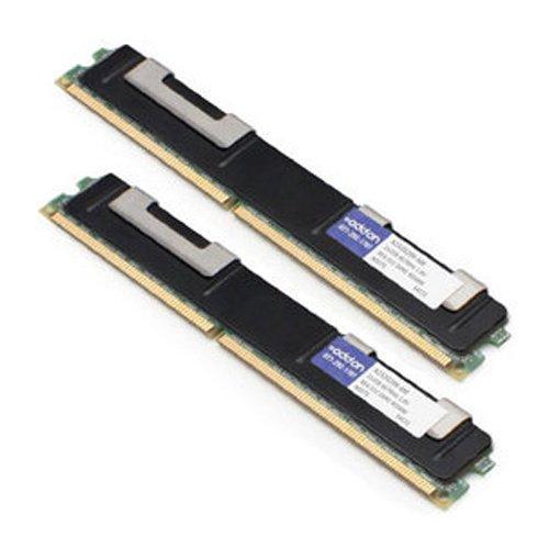 AddOn - DDR2-4 GB: 2 x 2 GB - DIMM 240-pin - 667 MHz / PC2-5300 - CL5-1.8 V - Registered - ECC (A2320299-AM)