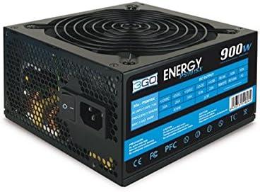 3GO PS901SX 900W ATX Negro Unidad de - Fuente de alimentación (900 W, Pasivo, 30 A, 56 A, 20 A, 0,8 A)