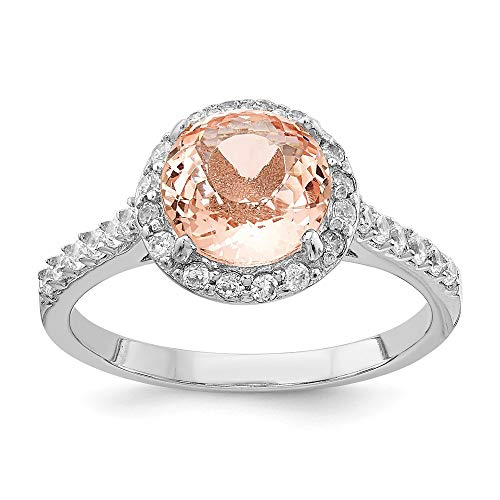 925 Sterling Silver Cubic Zirconia Cz Simulated