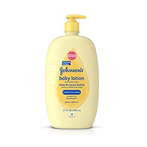 Johnson's Baby Shea & Cocoa Butter Lotion For Sensitive Skin, 27 Fl. Oz.