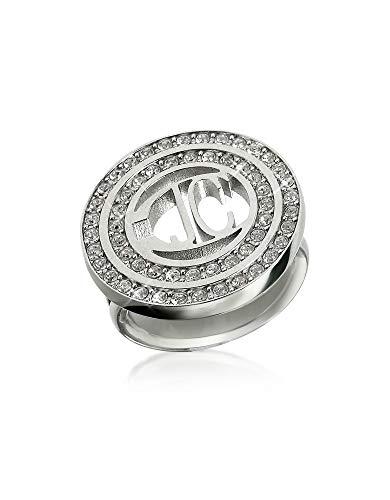 Just Cavalli Women's Scde050 Silver Metal Ring