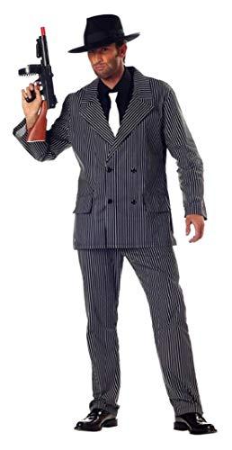 Roarin 20's Gangster Adult Mens Costume -
