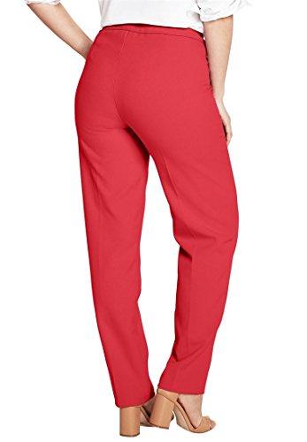 Roamans Women's Plus Size Bend Over Classic Pant by Roamans (Image #2)
