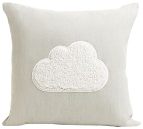 Chickidee Homeware - Cojín para Nube (algodón, 45 x 8 x 45 ...