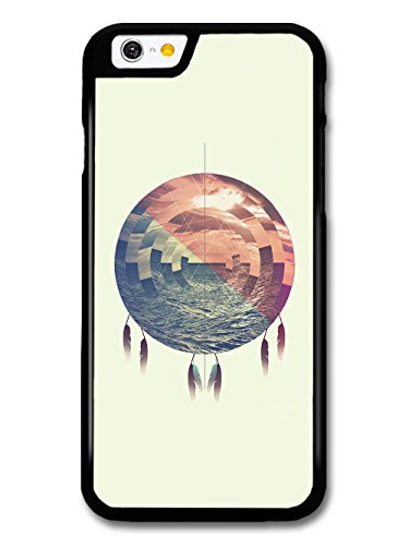 Cool Sea Shapes Dream Catcher in Blue and Red with Feathers case for iPhone 6 6S