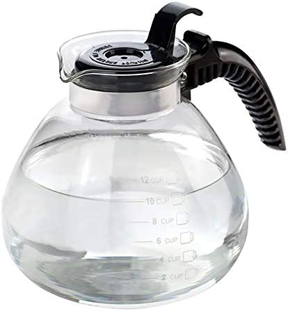 Stovetop Glass Tea Kettle 12 Cup