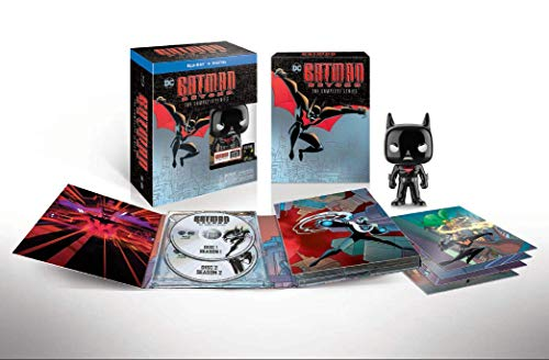 Batman Beyond: The Complete Series Deluxe Limited Edition (Blu-ray+Digital) (Best Batman Animated Episodes)