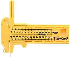 WCHAOEN Máquina para hacer botones, 44 mm, molde redondo de ...