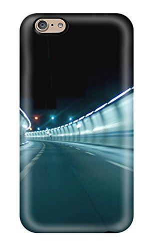 Iphone 6 Case Slim [ultra Fit] Tunnel In Zurich Night Speed Blur Lights Nature Other Protective Case Cover (Girly Iphone 6 Accesories compare prices)