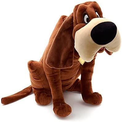 Disney Lady And The Tramp Trusty Plush Soft Cuddly Dog 17 H Amazon Co Uk Toys Games