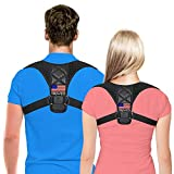Posture Corrector for Men & Women by Truweo – USA Designed Upper Back Support Brace for Providing Pain Relief from Neck, Back, Shoulder & Babo Care - Clavicle Support Brace for Slouching & Hunching