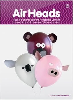 amazon com air heads animal party balloons toys games