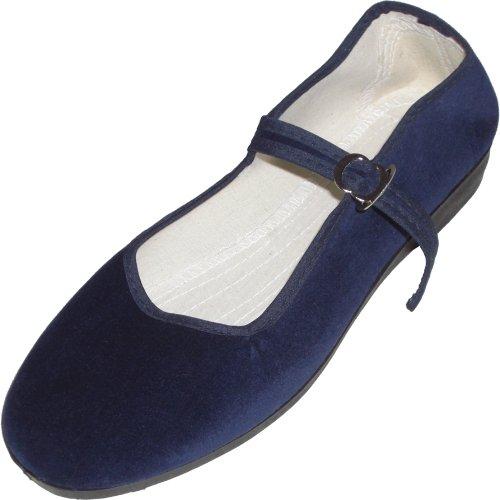 vari 33 scarpe 42 Blau velluto di Cina numeri colori pxYvv