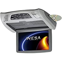 NESA NSC-101 10.1 Ceiling Mount Monitor DVD Combo (3-Interchangeable Shrouds)